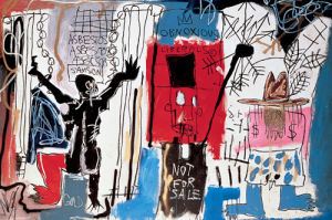 Obnoxious Liberals, 1982 by Jean-Michel Basquiat