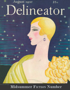 Delineator, August 1927 by Helen Dryden