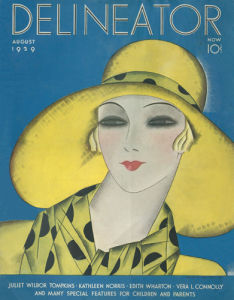 Delineator, August 1929 by Helen Dryden