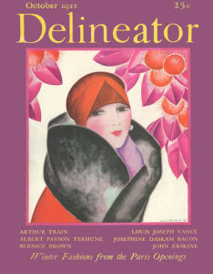 Delineator, October 1927 by Helen Dryden