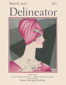 Delineator, March 1927 by Helen Dryden