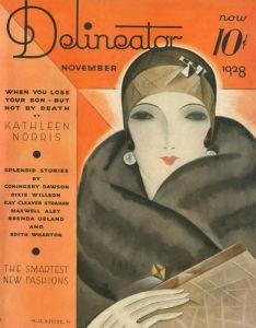 Delineator, November 1928 by Helen Dryden