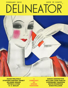 Delineator, February 1930 by Helen Dryden
