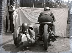 Side car by Anonymous