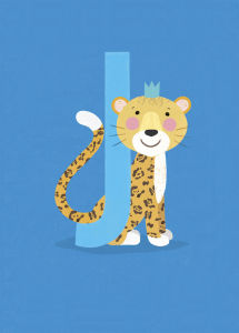 J is for Jaguar by Sugar Snap Studio