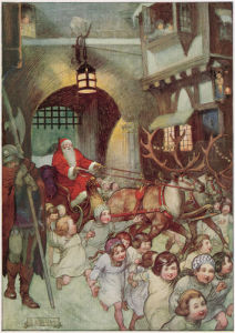 Father Christmas, 1922 by J R Skelton