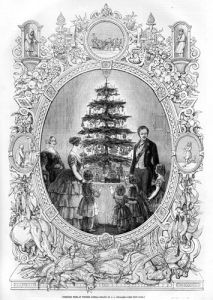 Queen Victoria's Christmas Tree by Anonymous