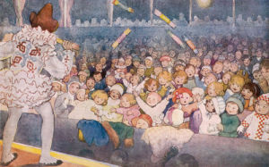 Pantomime, 1921 by Susan Beatrice Pearse