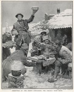 Christmas at the Front, 1918 by Anonymous