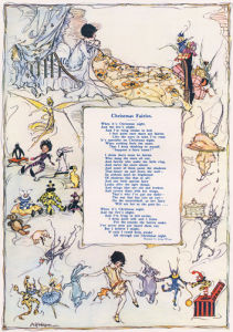 A Christmas Verse, 1928 by Alice H Watson