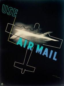 Air Mail Poster, 1934 by Royal Aeronautical Society