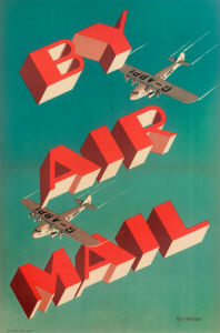GPO By Air Mail. by Royal Aeronautical Society