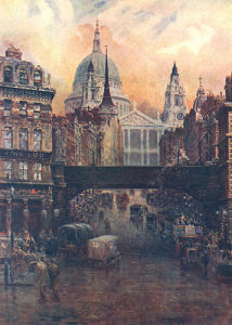 St Pauls,1918 by W W Collins