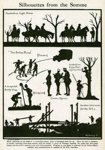 Silhouettes from the Somme, 1918 by Harry Lawrence Oakley