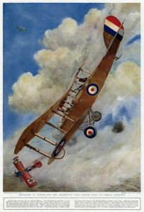 Duelling in Cloudland, 1917 by George Horace Davis