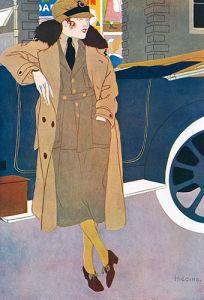 Woman in Uniform, 1919 by Reginald Higgins