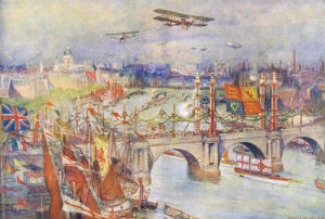 Peace Day, July 1919 by Charles William Wyllie