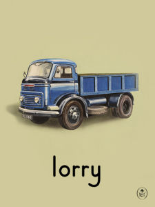 lorry by Ladybird Books