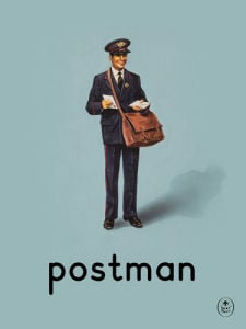postman by Ladybird Books