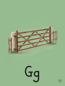 G is for gate by Ladybird Books