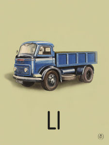 L is for lorry by Ladybird Books