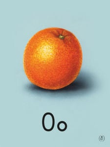 O is for orange by Ladybird Books