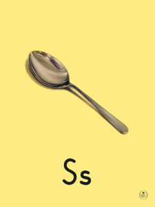 S is for spoon by Ladybird Books'