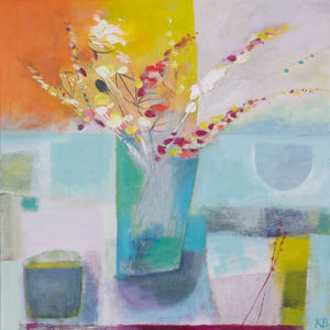 Spring Vase by Karen Birchwood