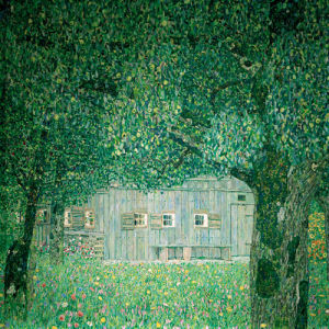 Farm House in Upper Austria, 1911 by Gustav Klimt