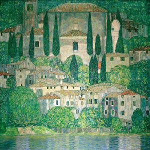 Church in Cassone, 1913 by Gustav Klimt