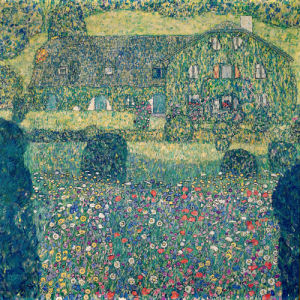 Country House on Lake Atter, 1914 by Gustav Klimt