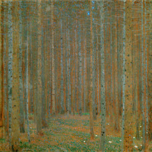 Pine Forest I, 1901 by Gustav Klimt