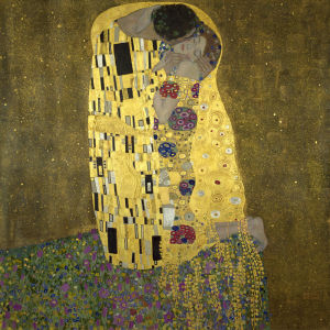 The Kiss, 1908 by Gustav Klimt