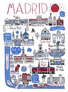 Madrid Cityscape by Julia Gash