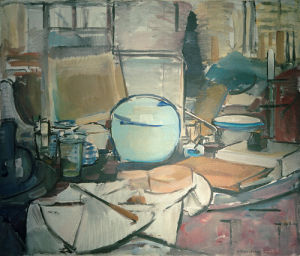 Still Life with Ginger Pot, 1911 by Piet Mondrian