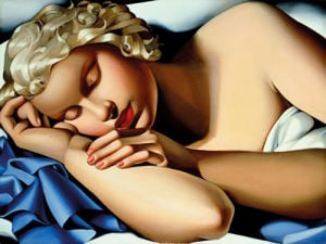 The Sleeping Girl (Kizette) I by Tamara de Lempicka