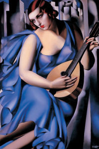 The Musician by Tamara de Lempicka