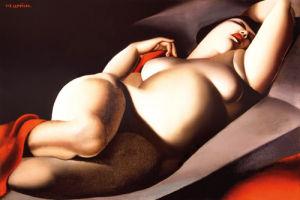 La Belle Raffaella by Tamara de Lempicka