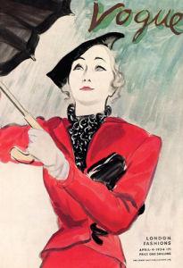 Vogue, April 4th 1934 by Carl Erickson