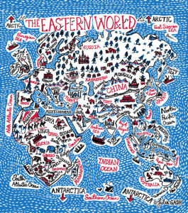 The Eastern World by Julia Gash