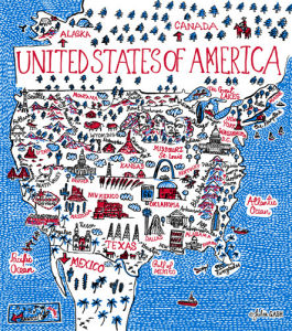USA by Julia Gash