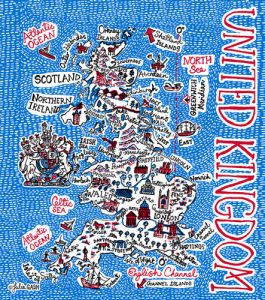 United Kingdom by Julia Gash
