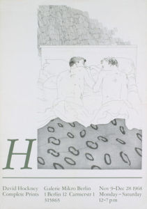 Two Boys Aged 23 or 24, 1968 by David Hockney
