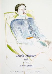 Jacques de Bascher de Beaumarchais, 1973 by David Hockney