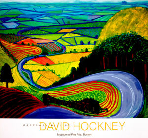 Garrowby Hill, 2012 by David Hockney
