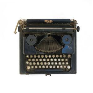 The Typewriter by Deborah Schenck