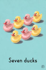 Seven ducks by Ladybird Books
