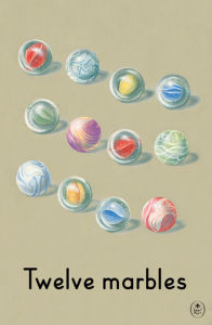 Twelve marbles by Ladybird Books'