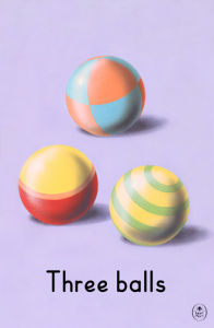 Three balls by Ladybird Books