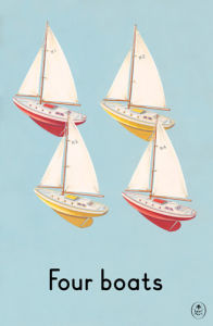Four boats by Ladybird Books